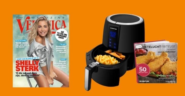 Airfryer cadeau bij een Veronica Magazine abonnement met korting 1 Airfryer kado bij een abonnement op Veronica Magazine met korting