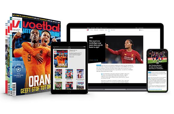 Profiteer hier van maximaal 35 korting bij een jaarabonnement op VI plus VI Pro Aanbieding Voetbal International abonnement tot liefst 35% korting!