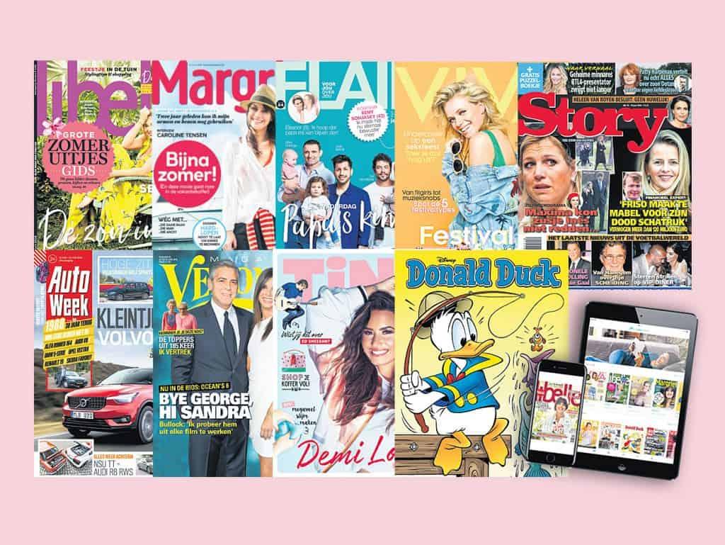 Tijdschrift abonnement cadeau geven 1024x769 Aanbiedingen aflopende tijdschrift abonnementen cadeau geven