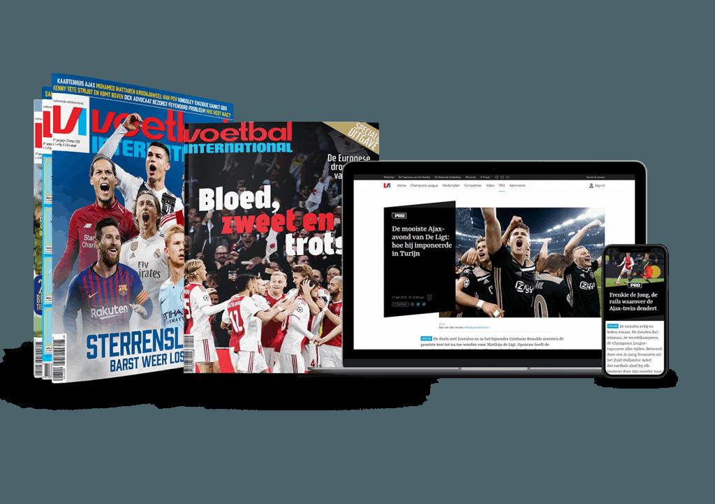 aanbieding Voetbal International proefabonnement met hoge korting stopt automatisch Proefabonnement Voetbal International, 8 keer VI voor maar 24 Euro (stopt automatisch, 29% korting)