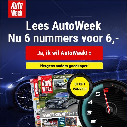 aanbieding autoweek proefabonnement 6 weken E 6. stopt automatisch Aanbieding Autoweek proefabonnement, 6 weken voor € 10.  (stopt automatisch)