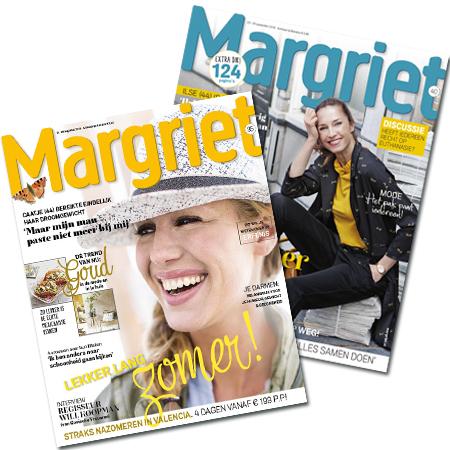 aanbiedingen Margriet jaarabonnementen met korting Aanbiedingen Margriet abonnementen met korting